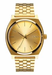 Nixon Time Teller Watch<br>All Gold