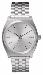 Nixon Time Teller Watch<br>All Silver
