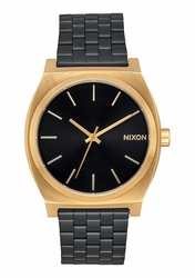 Nixon Time Teller Watch<br>Gold/Black Sunray