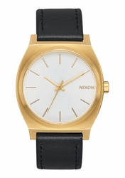 Nixon Time Teller Watch<br>Gold/White Sunray/Black