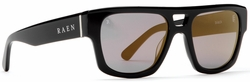 (SALE!!!) Raen Archar Sunglasses<br>Black/Smoke Gold Mirror
