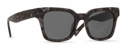 Raen Myer Sunglasses<br>Matte Grey Crystal/Black Polarized