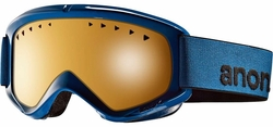 (Sale!!!) Anon Optic Helix Snow Goggles<br>Abyss/Amber