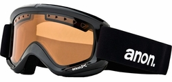 (Sale!!!) Anon Optic Helix Snow Goggles<br>Black/Amber
