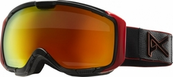 (Sale!!!) Anon Optic M1 Snow Goggles<br>Black Emblem/Red Solex