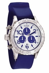 (Sale!!!) Nixon 42-20 PU Chrono Watch<BR>Purple