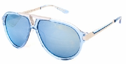 (Sale!!!) Paul Frank Back on the Motorway Sunglasses<br>Blue Ice Limited Edition