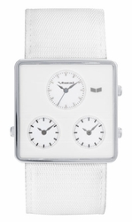 Vestal Savant Watch<br>White/Silver/Grey