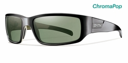Smith Prospect Sunglasses<br>Black/CP Polarized Gray Green