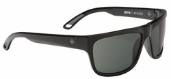 Spy Angler Sunglasses<br>Black/Happy Grey Green