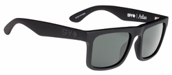 Spy Atlas Sunglasses<br>Soft Matte Black/Happy Grey Green Polarized
