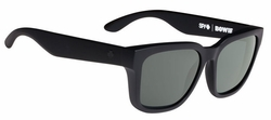 (Sale!!!) Spy Bowie Sunglasses<br>Matte Black/Happy Grey Green Polarized