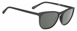Spy Cameo Sunglasses<br>Soft Matte Black/Happy Grey Green
