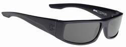 Spy Cooper Sunglasses<br>Soft Matte Black/Happy Grey Green Polar