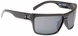 (Sale!!!) Spy Cutter Sunglasses<br>Black/Grey + Yellow
