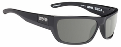 Spy Dega Sunglasses<br>Matte Black Ansi/Happy Grey Green