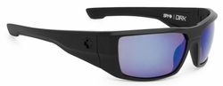 Spy Dirk Sunglasses<br>Matte Black/Happy Bronze Polarized w/Blue Spectra