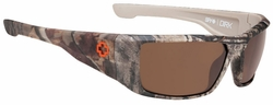 Spy Dirk Sunglasses<br>SPY + Real Tree/Happy Bronze Polar