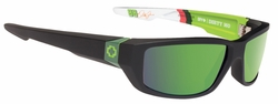 (Sale!!!) Spy Dirty Mo Sunglasses<br>Diet Moutain Dew Livery/Happy Bronze w/Green Spectra