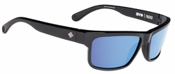 Spy Frazier Sunglasses<br>Black/Happy Bronze Polarized w/Light Blue Spectra