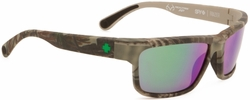 (Sale!!!) Spy Frazier Sunglasses<br>SPY + Real Tree/Happy Bronze Polarized Green-Spectra