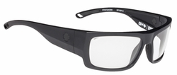 Spy Rover Sunglasses<br>Matte Black Ansi/Clear