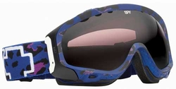 Spy Optics Soldier Snow Goggles<br>Matte Blue Cheetah/Bronze w Silver Mirror