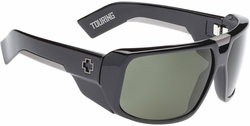 (Sale!!!) Spy Touring Sunglases<br>Black/Grey Green