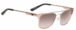 (Sale!!!) Spy Westport Sunglasses<br>Crosstown Collection<br>Matte Silver/Matte Rose Gold/Happy Bronze Fade w/Silver Mirror