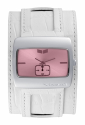 Vestal Saint Watch<br>White/Silver