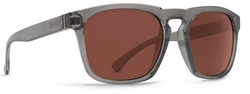 (Sale!!!) VonZipper Banner Sunglasses<br>Charcoal/Crystal Rose
