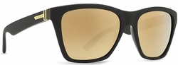 (Sale!!!) VonZipper Booker Sunglasses<br>Battlestations Collection<br>Black/Gold Glo
