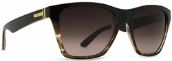 VonZipper Booker Sunglasses<br>Black Tortoise/Gradient