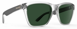 (Sale!!!) VonZipper Booker Sunglasses<br>Crystal Black/Green