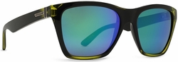 (Sale!!!) VonZipper Booker Sunglasses<br>MindGlo Limited Edition<br>Lime Quasar Glo