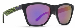 (Sale!!!) VonZipper Booker Sunglasses<br>Party Animals Lime/Meteor Glo