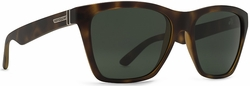 VonZipper Booker Sunglasses<br>Tort Satin/Vintage Grey