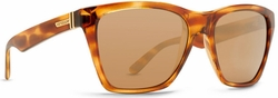 (Sale!!!) VonZipper Booker Sunglasses<br>Tortoise Gloss/Gold Glo