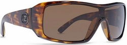 (Sale!!!) VonZipper Comsat Sunglasses<BR>Tortoise/Bronze