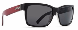 VonZipper Elmore Sunglasses<br>Hell On Wheels/Vintage Grey