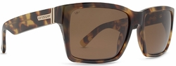 VonZipper Elmore Sunglasses<br>Tortoise/Wildlife Bronze Poly Polarized