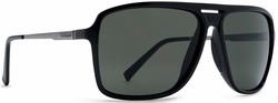 VonZipper Hotwax Sunglasses<br>Black Gloss/Vintage Grey