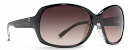 VonZipper Ling Ling Sunglasses<br>Black Crystal/Grey Brown Gradient
