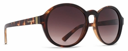 VonZipper Lula Sunglasses<br>Tort-Black Satin/Bronze