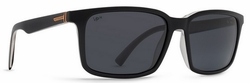 VonZipper Pinch Sunglasses<br>Black Crystal/Grey Meloptics Polar