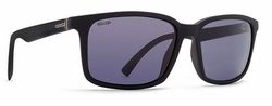VonZipper Pinch Sunglasses<br>Black Satin/Wildlife Vintage Grey Polar