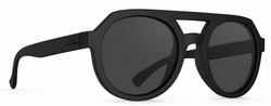 VonZipper Psychwig Sunglasses<br>Black Satin/Grey