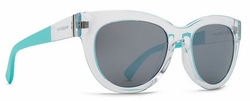 VonZipper Queenie Sunglasses<br>Crystal Mint Rim/Grey