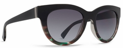 VonZipper Queenie Sunglasses<br>Muddled Teal/Brown Gradient