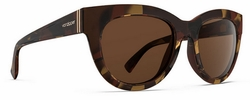 VonZipper Queenie Sunglasses<br>Tobacco Tortoise Gloss/Bronze
